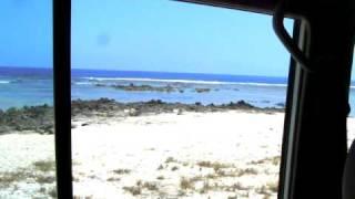 en 4X4 bord de plage au vanuatu