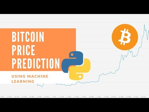 Bitcoin Price Prediction Using Machine Learning And Python