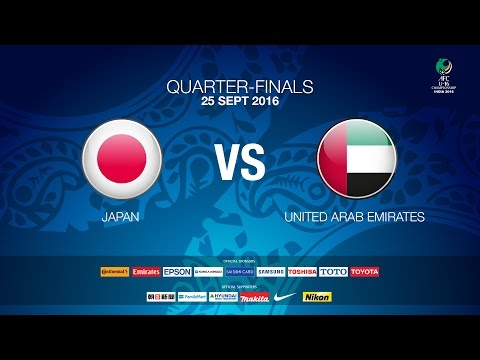 #AFCU16 M26 QF2 Japan VS UAE (Quarter Finals) - News Report