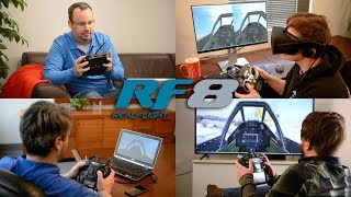 Great Planes RealFlight RF8 w/InterLink-X Controller Video