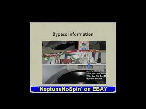 Maytag Neptune Washer R11 Q6 Repair Kit Wax Motor Youtube