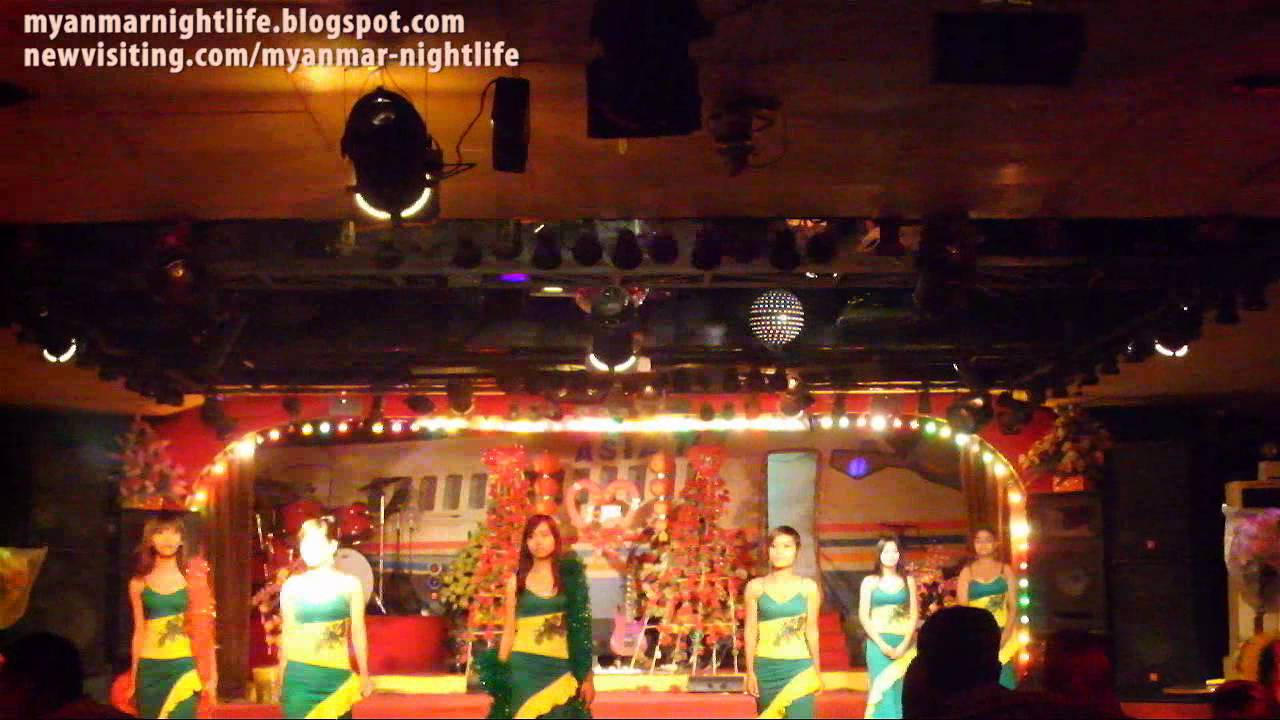 Yangon Nightlife Girls by Max Meier