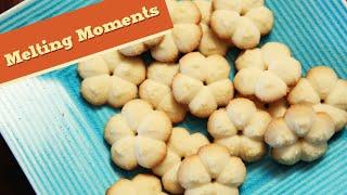 Melting Moments | Eggless Cookie Recipe | Divine Taste With Anushruti