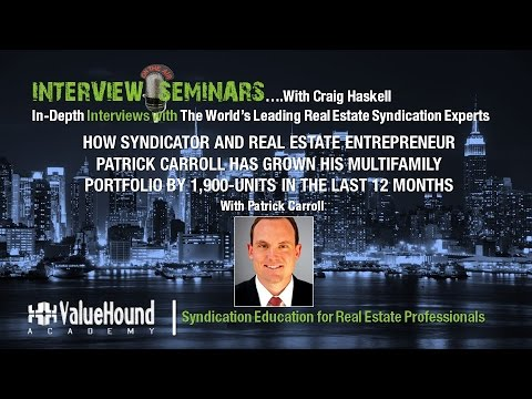 INTERVIEW: How Syndicator has Grown his Multifamily Portfolio by 1,900 Units in the last 12 Months