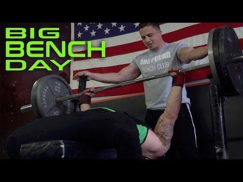 Heavy Benching with YouTube OG Nick Wright