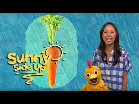Sunny Side Up, Kids Songs: Veggie Rap with Emily & Chica | Universal Kids