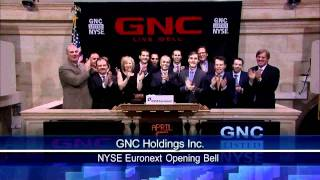6 April 2011 GNC rang the NYSE opening Bell
