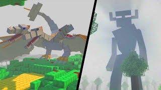 ENDERMAN TITAN VS THE KING!! BATALHA DE MOBS NO MINECRAFT!! ‹ Stux777 ›