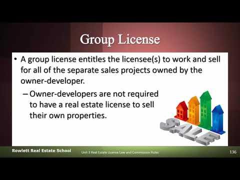 Florida Real Estate Broker Group License