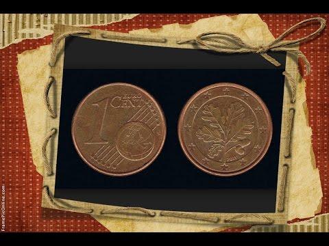 Coin 1 EURO CENT 2011 mint mark D Germany Numismatist  numismatics