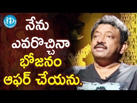 Director Ram Gopal Varma About Women Slavery At Kitchen | Ramuism 2nd Dose