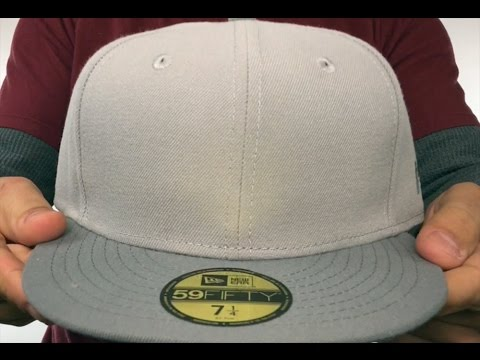 63125362696 ... low price new era 2t 59fifty blank grey grey fitted hat 26a64 a3295
