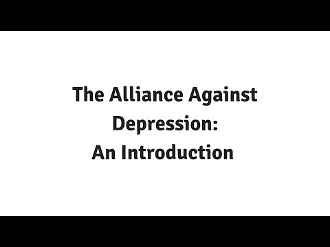 Dr Daniel Rock - An Introduction to the Alliance Against Depression