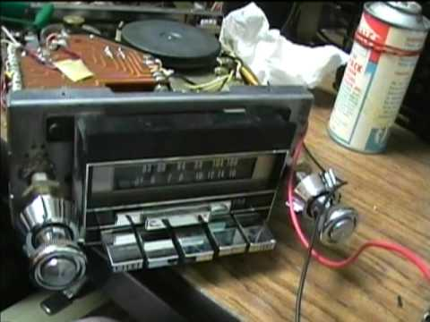 ford wiring diagram for radio whirlpool dryer motor 1977 automatic am/fm/8 track player cars - youtube