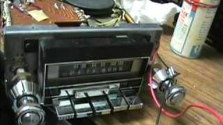 1977 Automatic Radio AM/FM/8 Track Player for Ford cars
