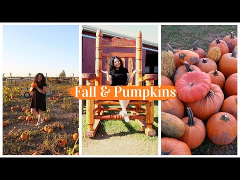 First Day of Fall 🍁 activities & Pumpkin Patch VLOG 2019 | Roba Family Farms