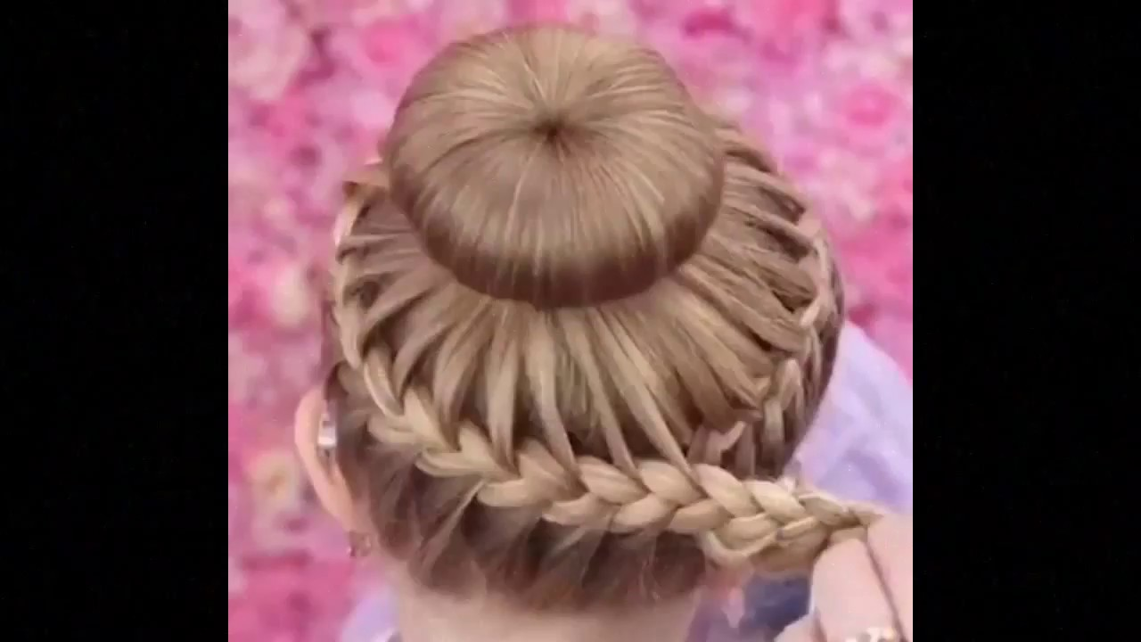 Model Rambut Kepang Anak Yang Gemesin By Sanggul Modern