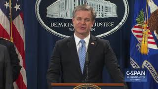 "FBI Director Wray: ""These are not hoax devices."" (C-SPAN)"