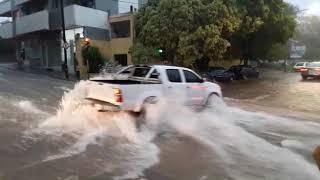 Tormenta en Córdoba del 25 de enero