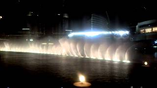 Dubai Fountain - Dancing on Chinese music