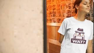 Wat Funny Skull T-Shirt