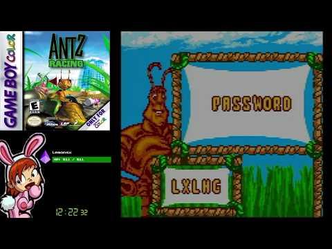 Antz Racing (GBC) - Full Playthrough