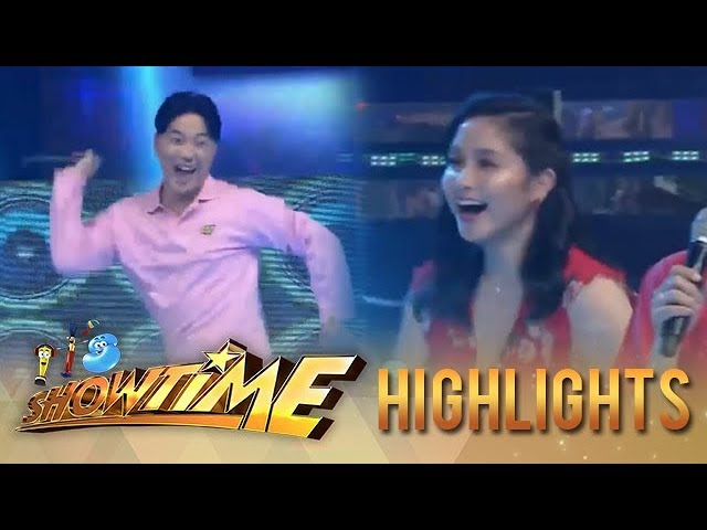 It's Showtime Copy-Cut: Mariel notices on Ryan Bang's dancing