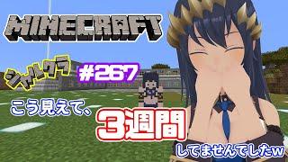 【Minecraft】久々なのに久々な感じがしないww シャルクラ#267【島村シャルロット / ハニスト】