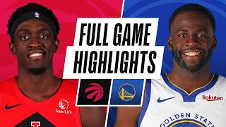 RAPTORS at WARRIORS | FULL GAME HIGHLIGHTS | January 10, 2021