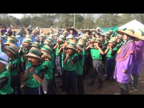 Sukan Tahunan SRI Al Amin Kerteh 2014 - Persembahan Rumah Sukan