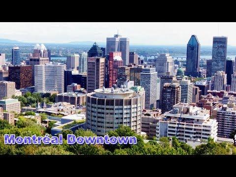Montréal Downtown - Ville-Marie - McGill - Mount Royal - Canada
