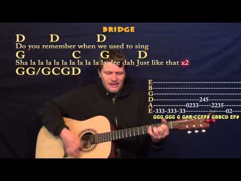 Brown Eyed Girl (Van Morrison) Strum Guitar Cover Lesson in G With Chords/Lyrics