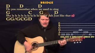 Brown Eyed Girl (Van Morrison) Easy Strum Guitar Cover Lesson