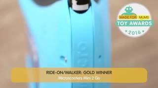 Micro Scooters Mini 2 Go | Gold winner