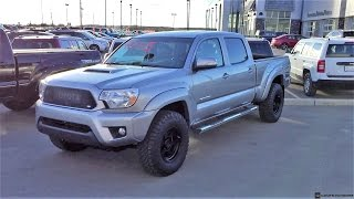 2015 Toyota Tacoma Double Cab on 265/75R16 Tires