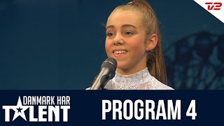 Luna Witzel - Danmark har talent - Program 4