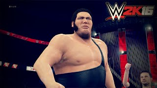 WWE 2K16 Entrances: Andre The Giant