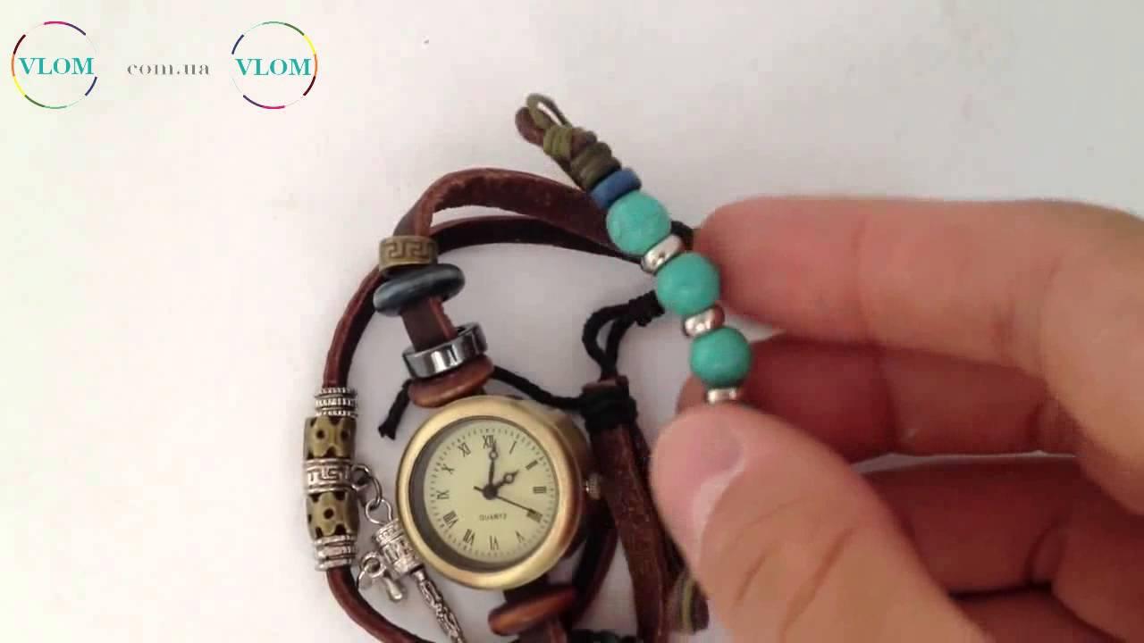 Браслеты на часы женские своими руками
