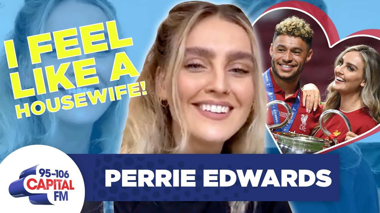 Little Mix's Perrie Reveals What Self-Isolation With Boyfriend Alex Is Like | Capital
