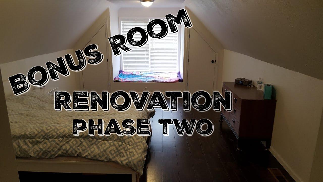 Adding Closet To Bonus Room | Shapeyourminds.com
