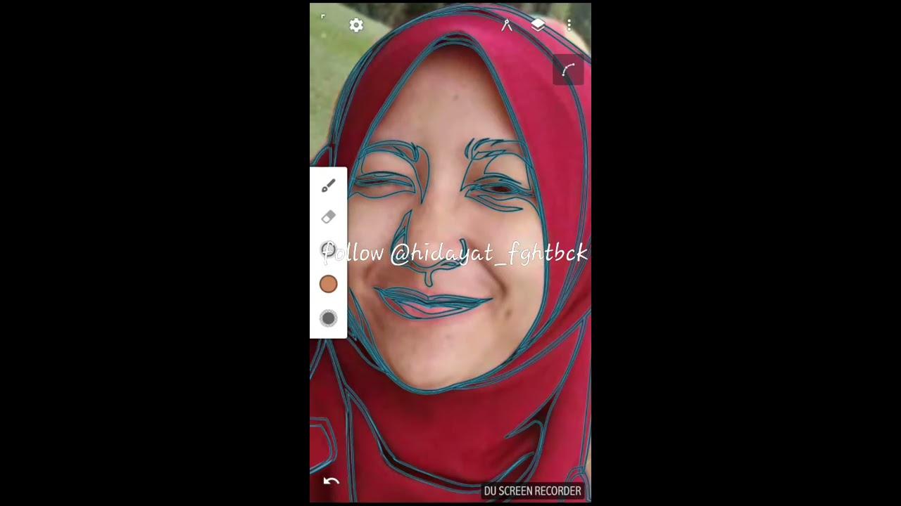 Tutorial membuat vektor kartun photoshop part 2 coloring and shading - Tutorial Vector Art Via Infinite Design Android Shading Skin Coloring Lips Gradient Part2