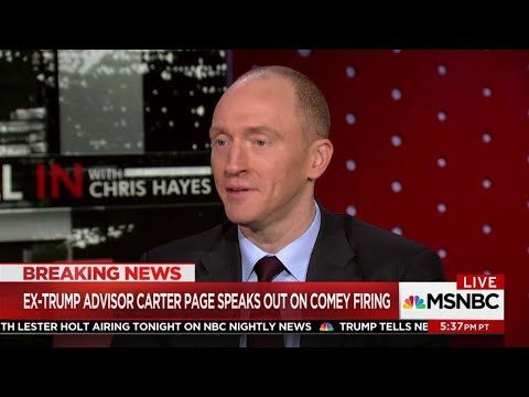 BREAKING: Carter Page Worked For FBI To Investigate Russia Pre-FISA Warrant