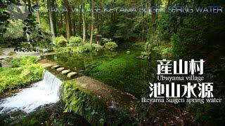 神秘の水源を樹齢200年以上の巨木が取り囲み、 毎分30tという豊富で清冽...
