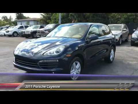 2011 Porsche Cayenne Hollywood FL 2046AT
