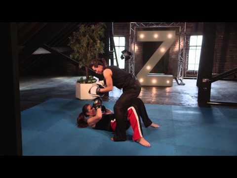 Fighter Training  Zara Phythian ' G Johnston ' Pressure Drill