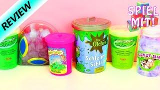 Cyber Strike Slime ControlVergleich mit Alien Schleim Olchies Schlamm Putty Bucket Slime