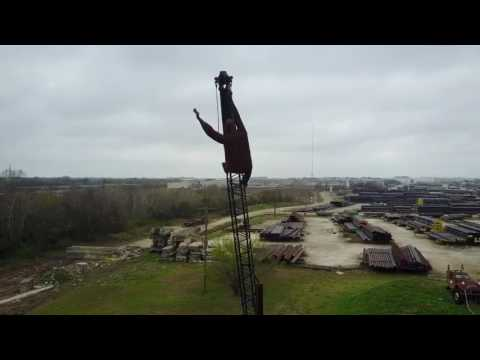 Mavicpro texas pipe and supply sculptures