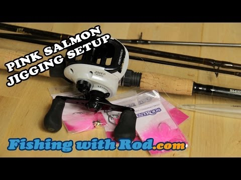 HOW TO SET UP A JIG FOR PINK SALMON FISHING | Fishing With Rod
