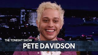 Pete Davidson Started Taking Singing Lessons as a Joke | The Tonight Show Starring Jimmy Fallon