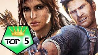Top 5 der BESTEN ACTION ADVENTURE GAMES